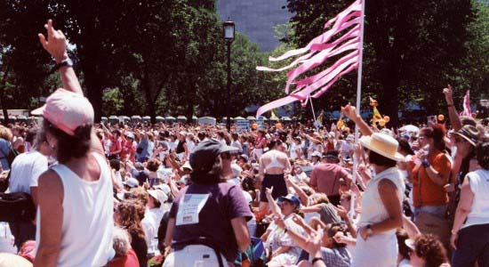 The Promise of America- 2000 Million Mom March