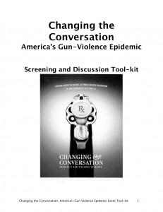 Changing the Conversation - Screening Tool Kit
